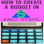 How To Create Your Own Budget in 5 Easy Steps