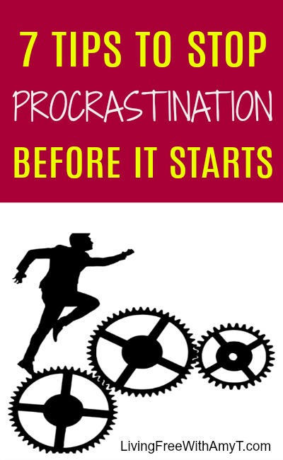 Tips To Stop Procrastination Before It Starts