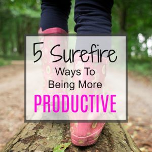 5 Tips to be more productive.