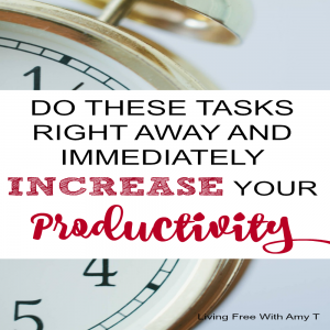 Be More Productive By Completing These Quick Tasks Right Away