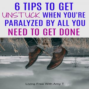 Get unstuck when you're paralyzed because of stress and overwhelm with all you need to get done.