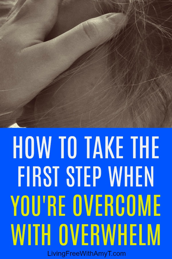 Feeling overwhelmed can stress us out and make us anxious. Sometimes it's so bad that it paralyzes us where we can't even get off the couch, as the thought of what we have to do is just too much to bear. Use these tips to help you overcome.