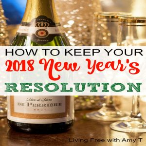 How To Keep Your 2018 New Year's Resolution