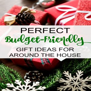 Perfect budget-friendly gift guide for around the house