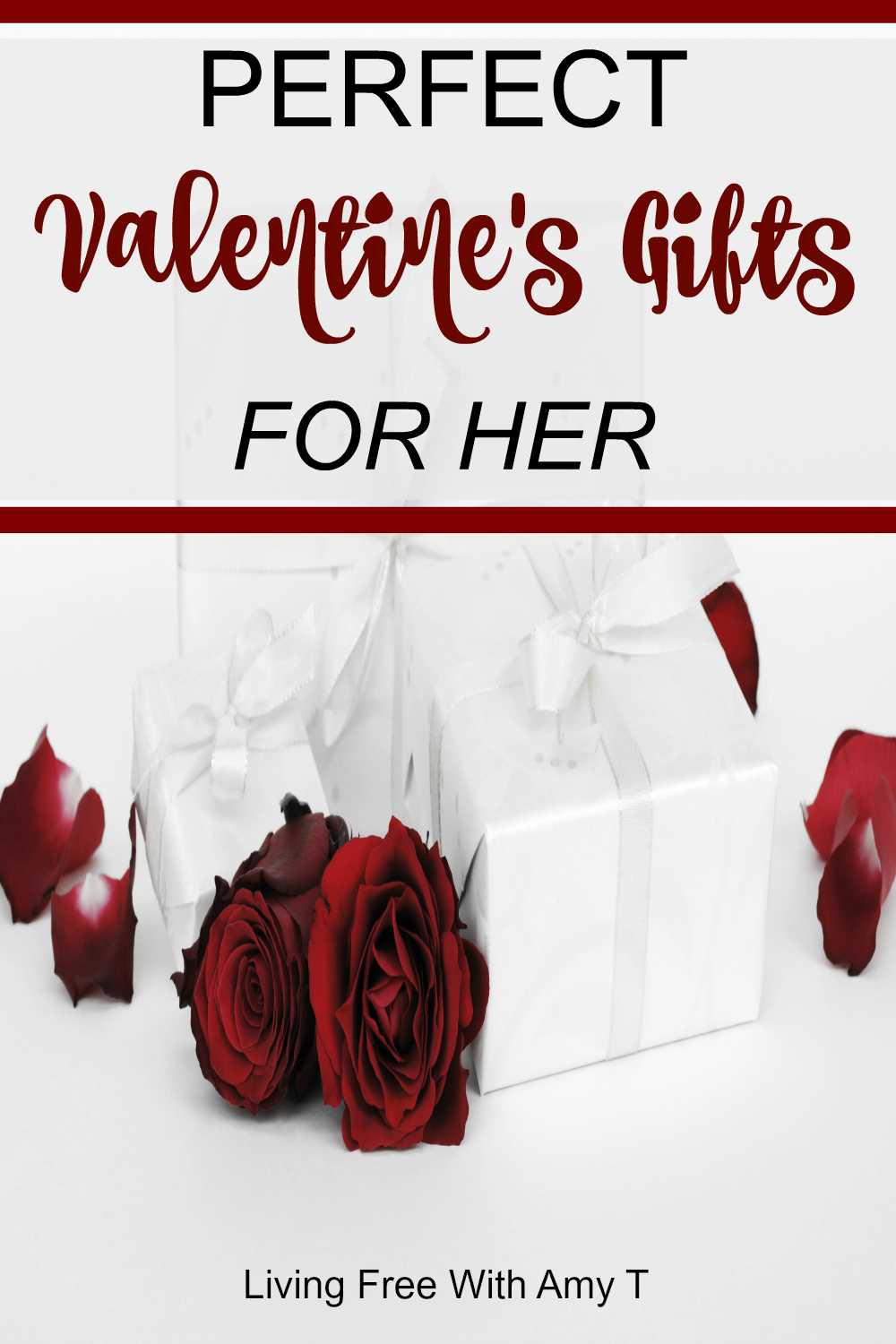 Perfect valentine 39 s day gift ideas for her living free for Perfect valentines day gifts