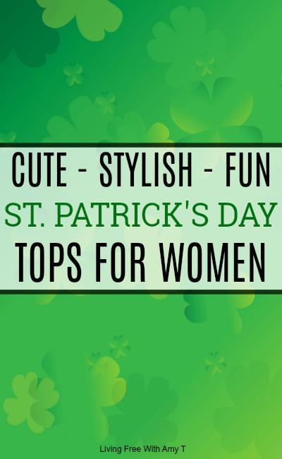 St. Patrick's Tops For Women
