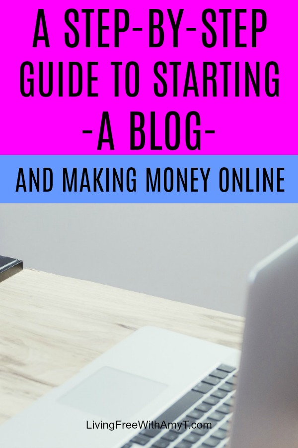 You can start a blog in just a few simple steps and begin making money pretty quickly. Use this step-by-step guide to help you get started.