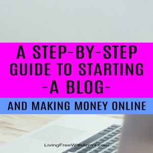 Learn how to start a blog and make money online