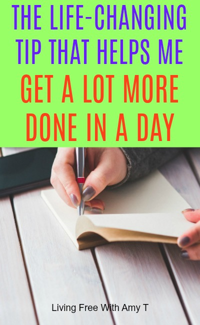 How To Get More Done In A Day and Be Productive
