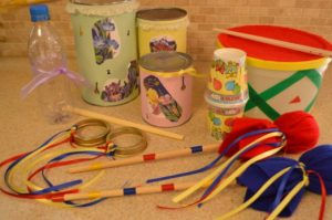 make your own musical instruments - indoor activities for kids
