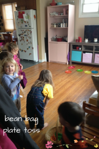 bean bag activity and games - indoor activities for kids
