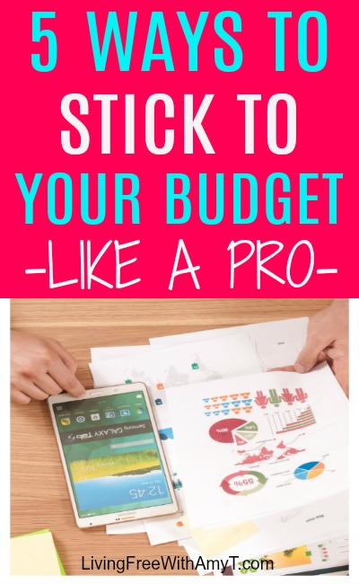 5 Ways To Stick To Your Budget Like A Pro