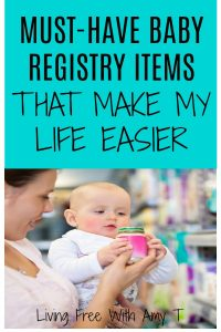 Must Have Baby Registry Items That Make My Life Easier