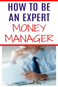How To Be An Expert Money Manager