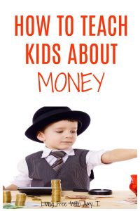 How to Teach Kids About Money Pin