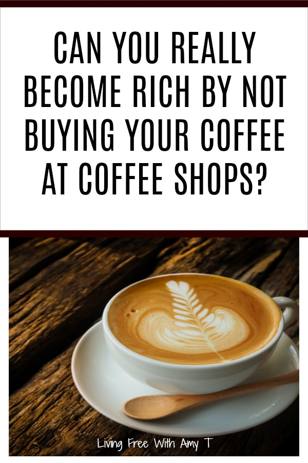 Only make coffee at home