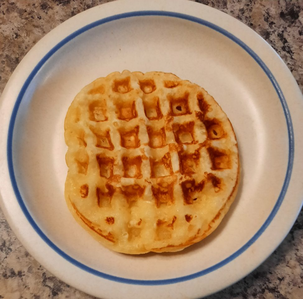 mini waffle for one